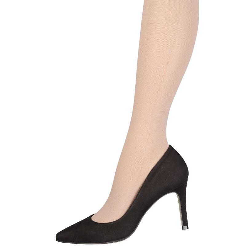 chaussettes de contention classe 2 mi bas transparent pieds ouverts veinax. Black Bedroom Furniture Sets. Home Design Ideas