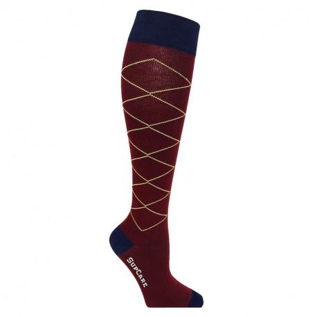 Chaussettes de compression sport coton
