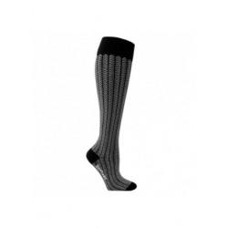Chaussettes de contention coton avec chevrons
